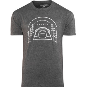 Marmot M's Camp Outdoor SS Tee Charcoal Heather
